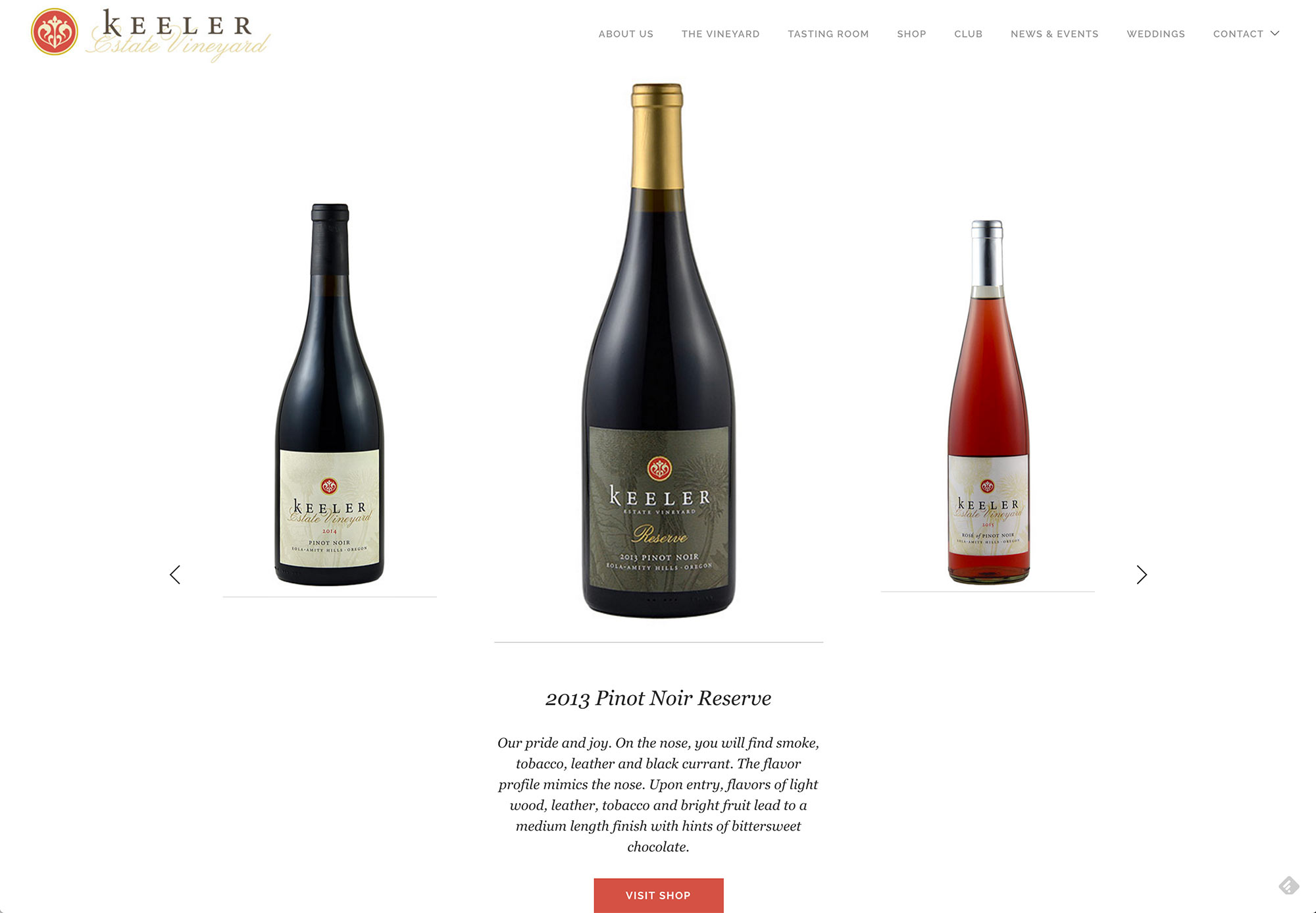 Websites for Oregon Wine