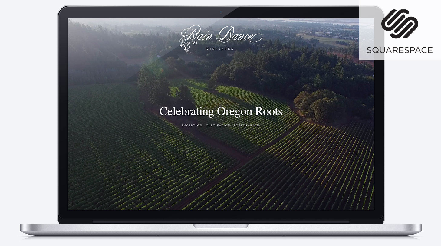 Squarespace websites for wineries