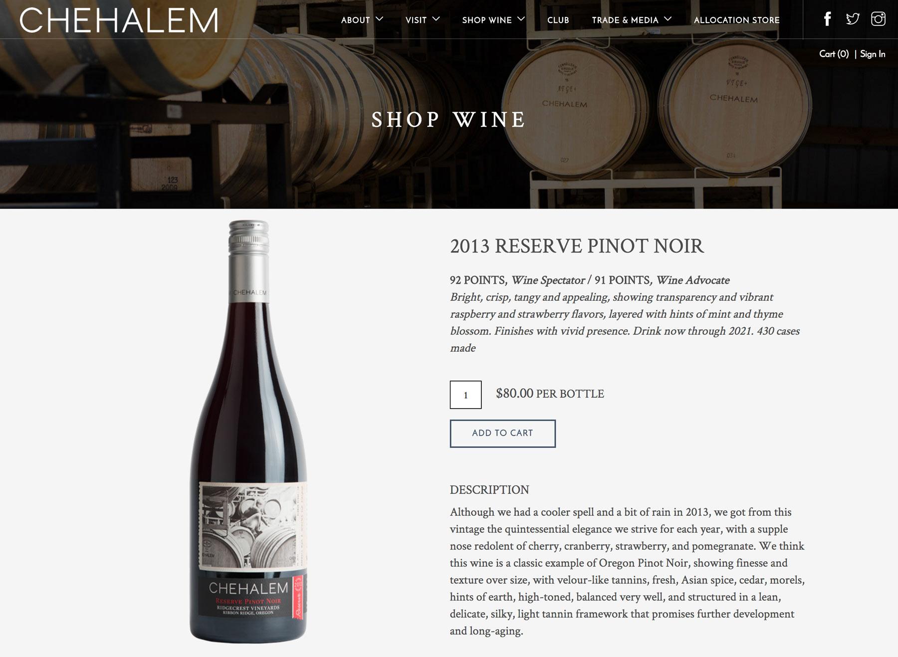 VinSuite for Winery Websites