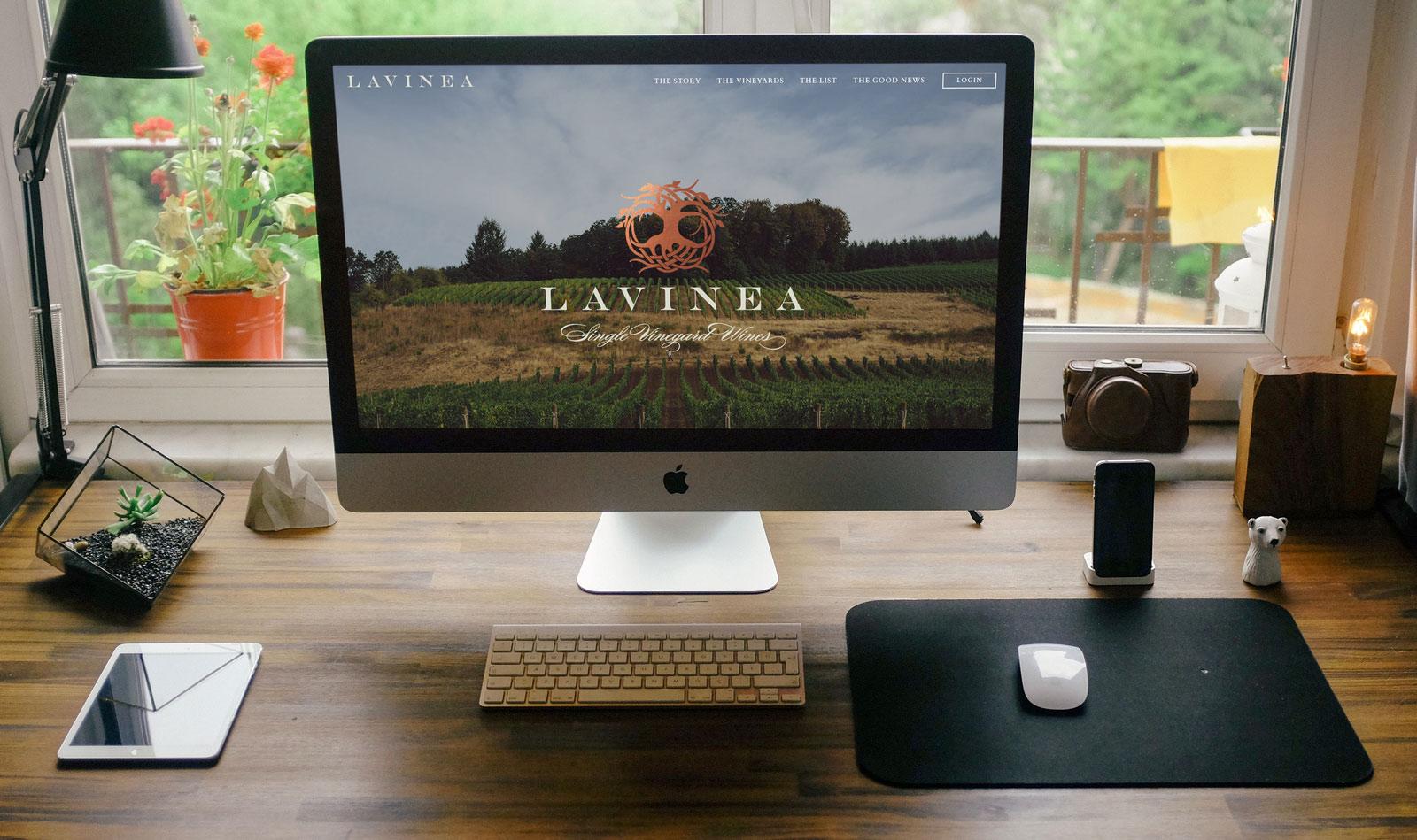 Oregon Wine Website Development