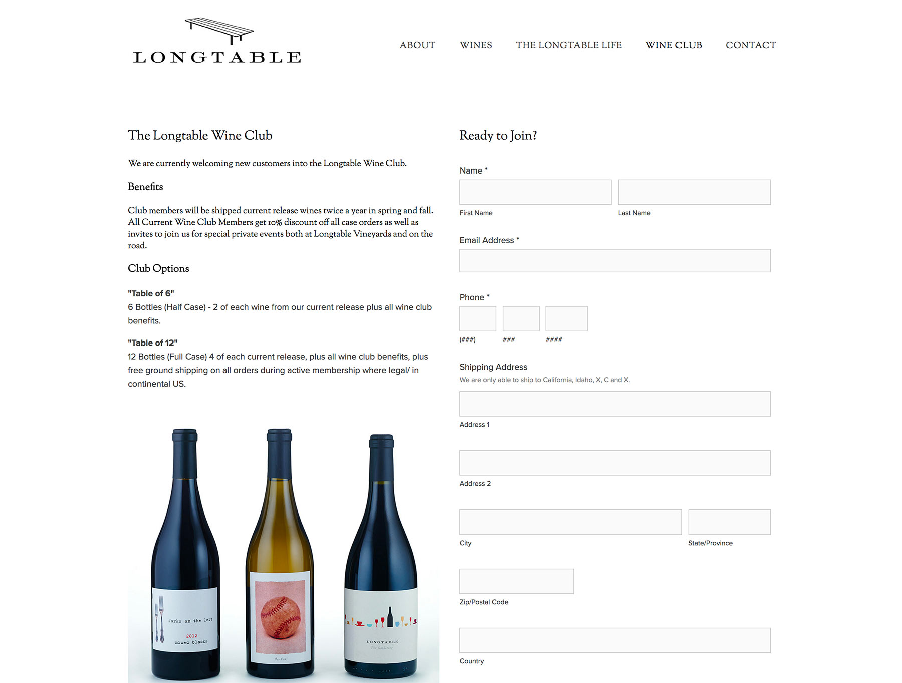 Napa Winery Website Developer
