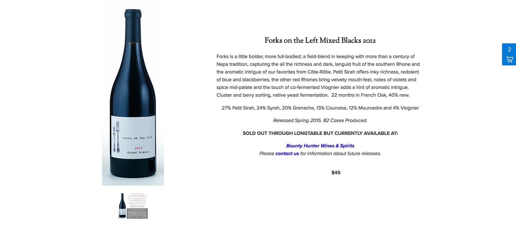 Longtable Wines | Vinbound Marketing