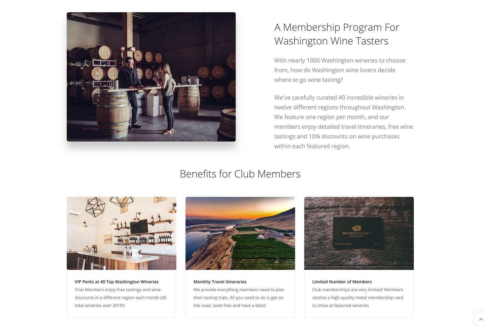 WineryHunt Washington | Vinbound Marketing
