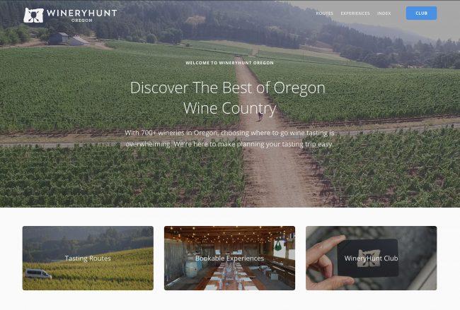 WineryHunt Oregon