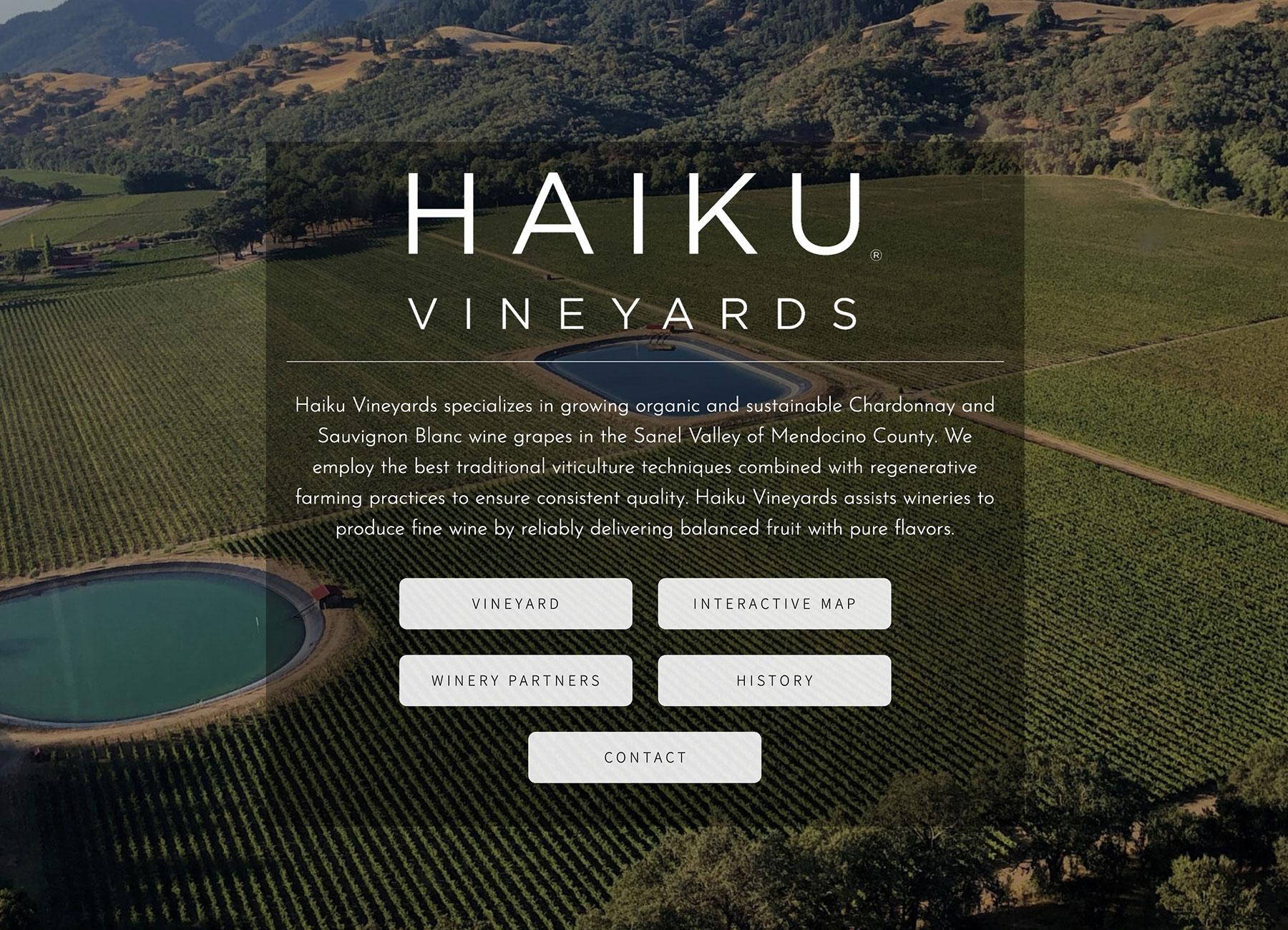 Best vineyard website
